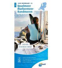 Revierführer Binnen ANWB Waterkaart 18, Ijsselmeer, Markermeer, Randmeeren 1:70.000 ANWB