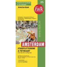 Stadtpläne Falk Stadtplan und Radkarte 05 Niederlande - Amsterdam 1:14.500 Falk niederland