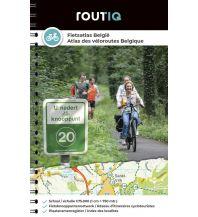 Routiq Radatlas Belgien/Fietsatlas België 1:75.000 Falk niederland