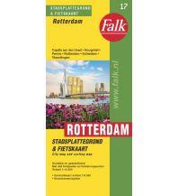 Stadtpläne Falk Stadtplan Niederlande - Rotterdam 1:14.500 Zentrum 1:8.000 Falk niederland