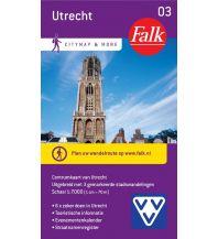 Stadtpläne Falk Niederlande Stadtplan - Utrecht Zentrum 1:7.000 Falk niederland