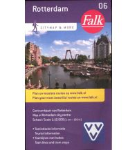 Stadtpläne Falk Niederlande Stadtplan - Rotterdam Centrum 1:10.000 Falk niederland