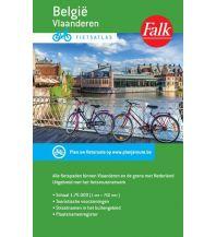 Radkarten Falk Fietsatlas/Radatlas België/Belgien - Vlaanderen/Flandern 1:75.000 Falk niederland