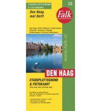 Stadtpläne Falk Niederlande Stadtplan und Radkarte - Den Haag 1:14.500, Zentrum Den Haag, Delft, Leidschendam 1:7.500 Falk niederland