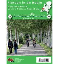 Radkarten Fietsen in de Regio Niederlande - Hoeksche Waard, Voorne-Putten, Rozenburg 1:50.000 Cito plan