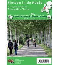 Radkarten Fietsen in de Regio Niederlande - Krimpenerwaard, Reeuwijkse Plassen 1:50.000 Cito plan