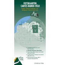 Radkarten Alta Via Carte Rando-Velo 6 Belgien - Brabant & Namur 1:75.000 Alta via