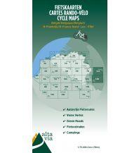 Radkarten Alta Via Carte Rando-Vélo 14, Eifel & Mosel 1:75.000 Alta via