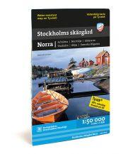 Kanusport Calazo See- und Küstenkarte Stockholms skärgård Norra 1:50.000 Calazo