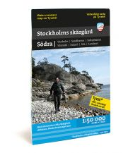 Kanusport Calazo Kustkart Stockholms skärgård - Södra/Süd 1:50.000 Calazo