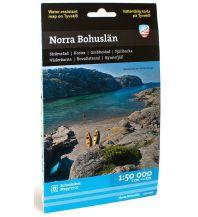 Wanderkarten Skandinavien Calazo Kustkart Norra/Nördliches Bohuslän 1:50.000 Calazo
