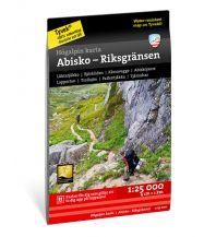 Wanderkarten Skandinavien Calazo Högalpin karta Schweden - Abisko - Riksgränsen 1:25.000 Calazo