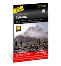 Wanderkarten Skandinavien Calazo Högalpin karta Sylarna 1:20.000 Calazo