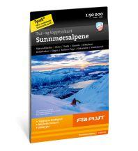 Skitourenkarten Calazo Tur- og toppturkart Sunnmørsalpene 1:50.000 Calazo