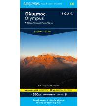Wanderkarten Griechisches Festland Geopsis-Wanderkarte 139, Olympus 1:50.000/1:25.000 Geopsis