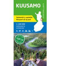 Wanderkarten Skandinavien Karttakeskus Outdoor Map Finnland - Kuusamo 1:100.000 Karttakeskus Oy