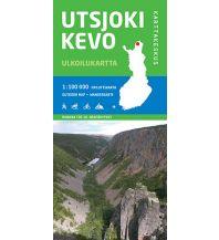 Wanderkarten Skandinavien Karttakeskus Outdoor Map Finnland - Utsjoki, Kevo 1:100.000 Karttakeskus Oy
