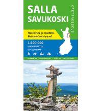 Wanderkarten Finnland Karttakeskus Wanderkarte Finnland - Salla Savukoski 1:100.000 Karttakeskus Oy