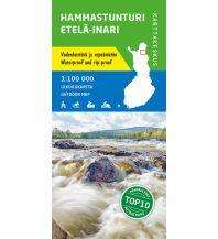 Wanderkarten Skandinavien Karttakeskus Wanderkarte Finnland - Hammastunturi, Etelä-Inari 1:100.000 Karttakeskus Oy
