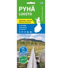 Wanderkarten Skandinavien Karttakeskus Outdoor Map Pyhä, Luosta 1:50.000 Karttakeskus Oy