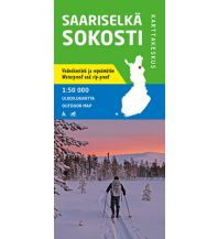 Wanderkarten Skandinavien Karttakeskus Outdoor Map Saariselkä, Sokosti 1:50.000 Karttakeskus Oy