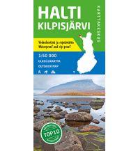 Wanderkarten Skandinavien Karttakeskus Outdoor Map Halti, Kilpisjärvi 1:50.000 Karttakeskus Oy