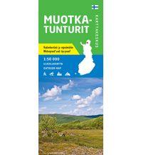 Wanderkarten Skandinavien Karttakeskus Wanderkarte Muotkatunturit 1:50.000 Karttakeskus Oy
