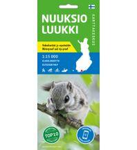 Wanderkarten Skandinavien Karttakeskus Outdoor Map Nuuksio, Luukki 1:15.000 Karttakeskus Oy