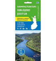 Karttakeskus WK Finnland - Hammastunturi, Ivalojoki, Juutua 1:50.000 Karttakeskus Oy