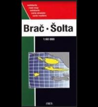 Straßenkarten Kroatien Forum Autokarte Kroatien Brač, Šolta, Hvar, Vis 1:60.000 Forum Verlag