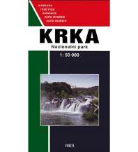 Straßenkarten Kroatien Forum Autokarte Kroatien - Krka Nacionalni Park 1:50.000 Forum Verlag