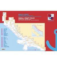 Seekarten Seekarten Set Kroatien gesamt - Spiralgebunden 1:100.000 Hrvatski Hidrografski Institut Repubika Hrvatska