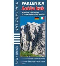Kletterkarten Astroida Kletterkarte Paklenica Nationalpark Anica kuk Boris Cujic
