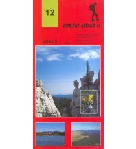 Wanderkarten Kroatien Smand-Wanderkarte 12, Gorski Kotar 2, 1:30.000 Smand d.o.o.