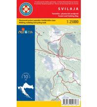 Wanderkarten Kroatien HGSS-Wanderkarte Svilaja 1:25.000 Hrvatska Gorska Sluzba Spasavanja