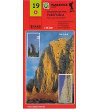 Wanderkarten Kroatien Smand-Wanderkarte 19, Nacionalni Park Paklenica 1:25.000 Smand d.o.o.