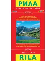 Wanderkarten Bulgarien Domino WK Bulgarien - Rila-Gebirge 1:50.000 Domino Sltd.
