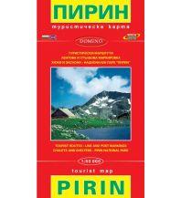Wanderkarten Bulgarien Domino WK Bulgarien - Pirin-Gebirge 1:50.000 Domino Sltd.