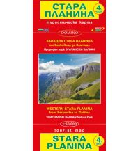 Wanderkarten Bulgarien Domino WK Bulgarien - Stara Planina part 4 - von Berkovista bis Zlatitsa 1:50.000 Domino Sltd.