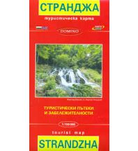 Wanderkarten Bulgarien Domino Wanderkarte Strandža/Strandscha 1:100.000 Domino Sltd.