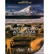 Wanderkarten Südamerika ViaChile Trekking Map - San Pedro de Atacama Viachile Editores
