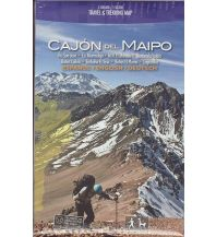 Wanderkarten Südamerika Travel & Trekking Chile - Cajon del Maipo 1:125.000 Viachile Editores