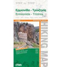 Wanderkarten Peloponnes Orama-Wanderkarte Ermionída, Trizinía 1:75.000 Orama Editions