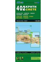 Wanderkarten Kreta Road Editions Map Kreta 402, Samariá, Réthymno 1:50.000 Road Editions