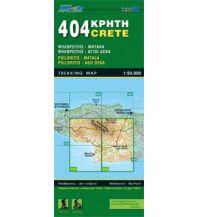 Wanderkarten Kreta Road Editions Map Kreta 404, Ágioi Déka, Mátala 1:50.000 Road Editions