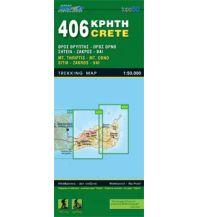 Wanderkarten Kreta Road Editions Map Kreta 406, Sitía, Zákros, Vái 1:50.000 Road Editions