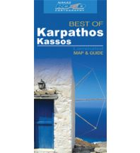 Straßenkarten Griechenland Road Editions Best Of - Karpathos Kassos Road Editions