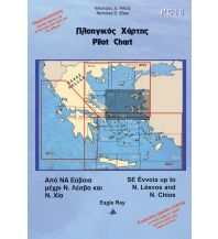 Seekarten Griechenland Eagle Ray Pilot Chart 16 - SE Evvoia to Chios - Mytilini 1:297.000 Eagle Ray Publications