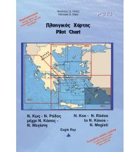 Seekarten Griechenland Eagle Ray Pilot Chart 13 - South Dodecanese 1:250.000 Eagle Ray Publications