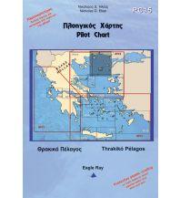 Seekarten Griechenland Eagle Ray Pilot Chart 15 - Thrakiko Pelagos 1:242.000 Eagle Ray Publications
